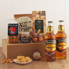 Hampers and Gifts to the UK - Send the The Golden Champion Beer Gift Box