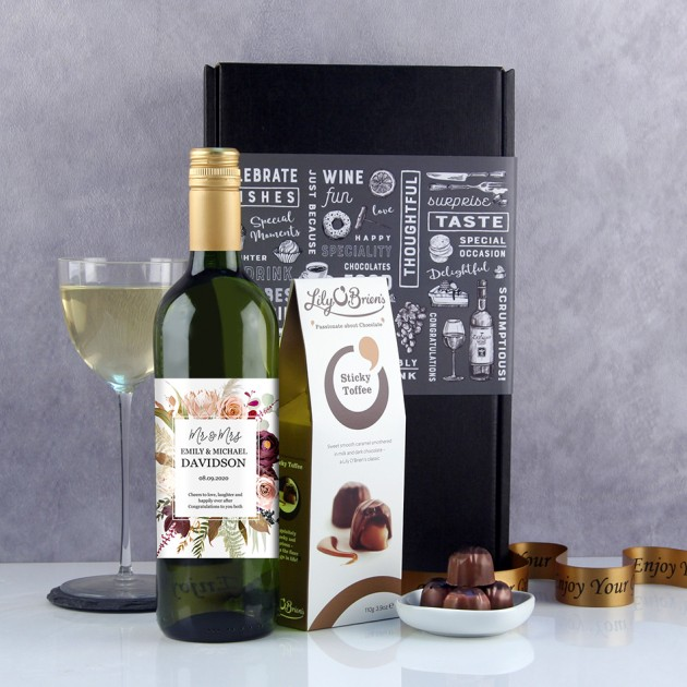 Hampers and Gifts to the UK - Send the Cheers to Love and Laughter Wine Gift