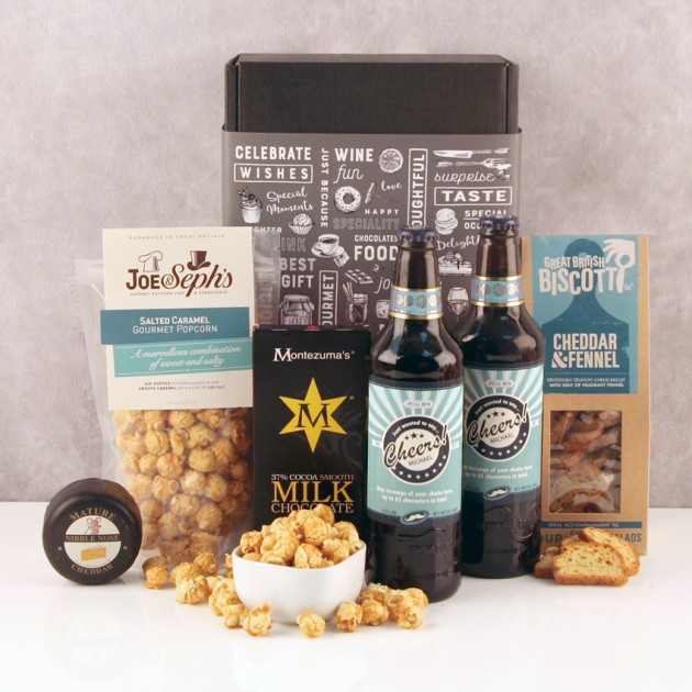 Hampers and Gifts to the UK - Send the Cheers! Sweet Treats & Beer Hamper