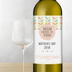 Hampers and Gifts to the UK - Send the Happy Mother's Day Cheers to You Wine