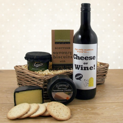 Hampers and Gifts to the UK - Send the Age Only Matters if You're Cheese or Wine