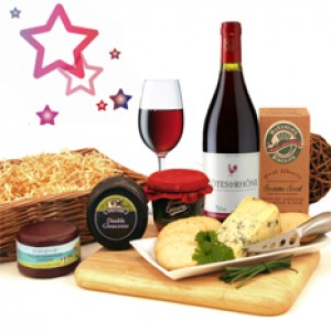 Cheese Wine Hampers