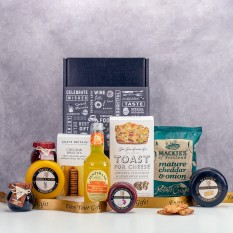 Hampers and Gifts to the UK - Send the  Cheese Please No Wine Hamper