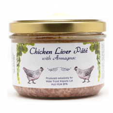 Hampers and Gifts to the UK - Send the Chicken Liver Pate with Armagnac - 180g