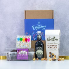 Hampers and Gifts to the UK - Send the Chocolate Fudge Cake Birthday Celebration