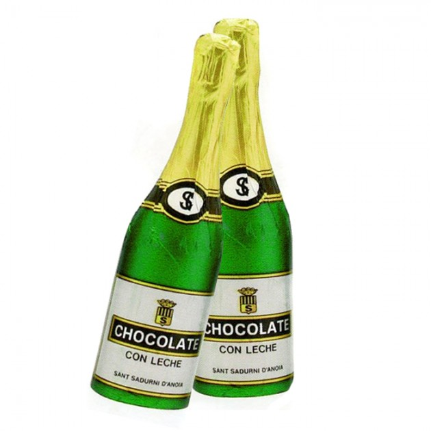 Hampers and Gifts to the UK - Send the Chocolate Champagne Bottle
