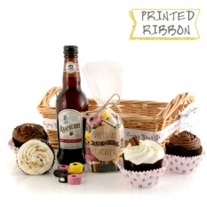 Hampers and Gifts to the UK - Send the Pretty As Cupcakes Chocolate Delight