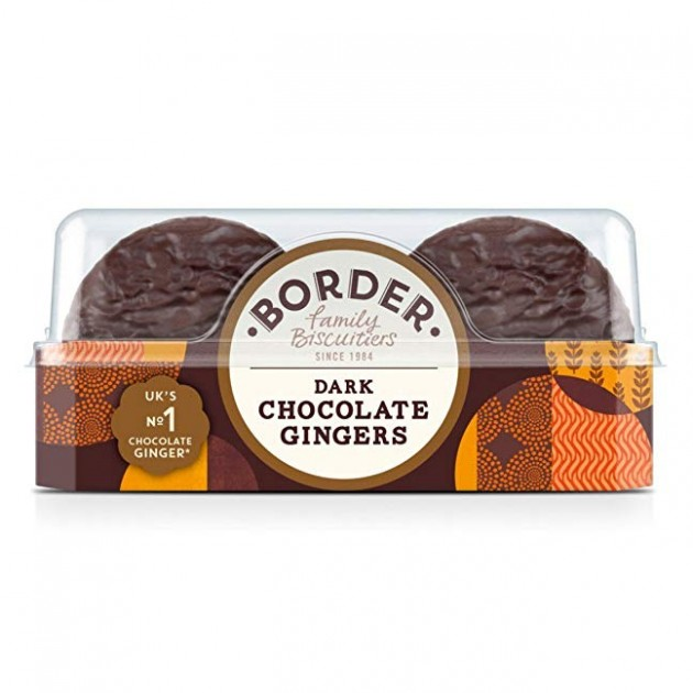 Hampers and Gifts to the UK - Send the Border Biscuits - Dark Chocolate Gingers & Orange