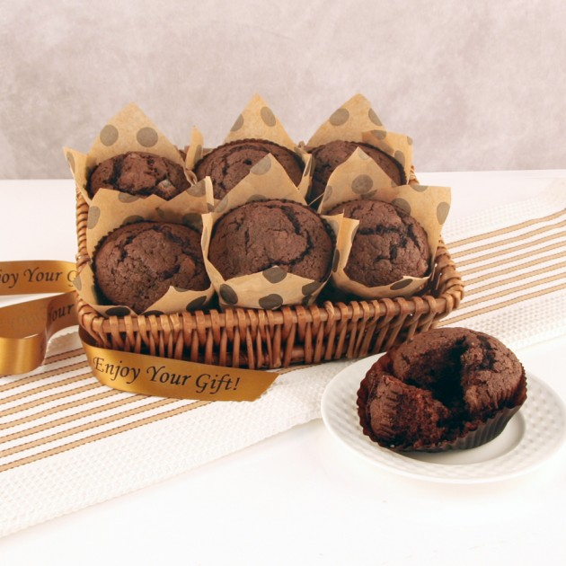 Hampers and Gifts to the UK - Send the Chocolate Heaven Muffin Tray
