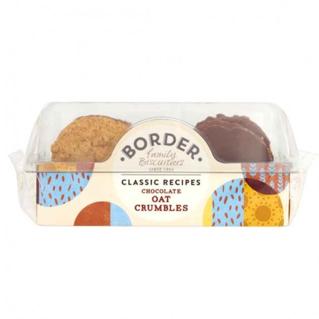 Hampers and Gifts to the UK - Send the Border Biscuits - Chocolate Oat Crumbles