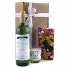 Hampers and Gifts to the UK - Send the Definition of a Mother Wine and Chocolates