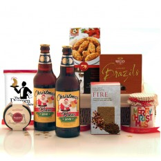 Hampers and Gifts to the UK - Send the Santa's Christmas Brew Hamper
