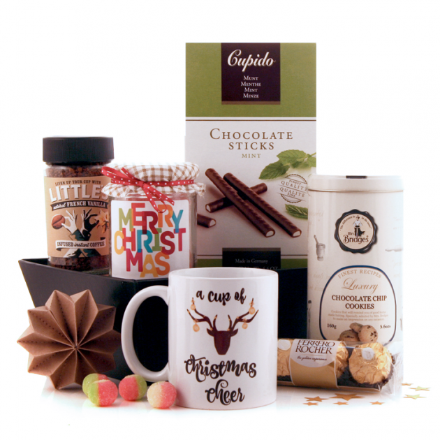 Hampers and Gifts to the UK - Send the A Cup of Christmas Cheer Hamper