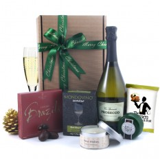 Hampers and Gifts to the UK - Send the Christmas Sparkle Gift Box