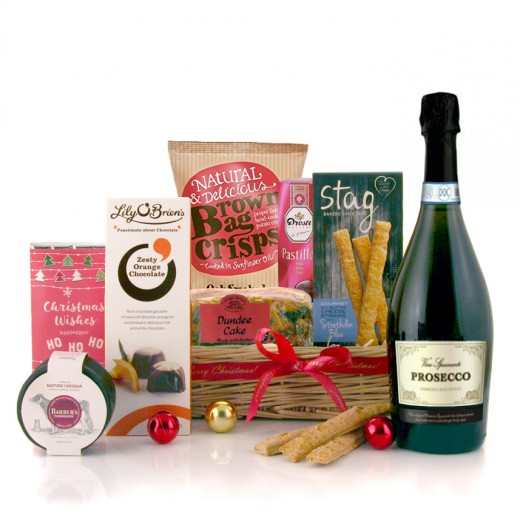 Hampers and Gifts to the UK - Send the Christmas Wishes With Prosecco