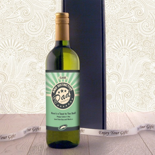Hampers and Gifts to the UK - Send the Classic Dad Wine Gift