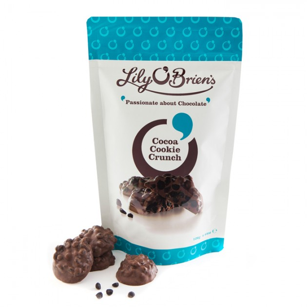 Hampers and Gifts to the UK - Send the Lily O'Brien's Cocoa Cookie Crunch