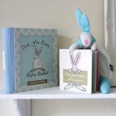 Hampers and Gifts to the UK - Send the Little Rufus Comforter and Book Gift Set