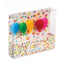 Birthday Balloons Candles +£1.99