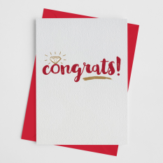 Hampers and Gifts to the UK - Send the Congrats! Greeting Card