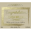 Hampers and Gifts to the UK - Send the Personalised Congratulations Prosecco