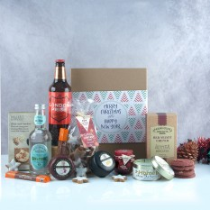 Hampers and Gifts to the UK - Send the Home Is Where the Heart Is Christmas Hamper