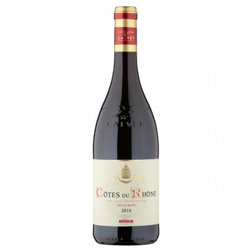 Hampers and Gifts to the UK - Send the Calvet Côtes du Rhône Reserve - 75cl