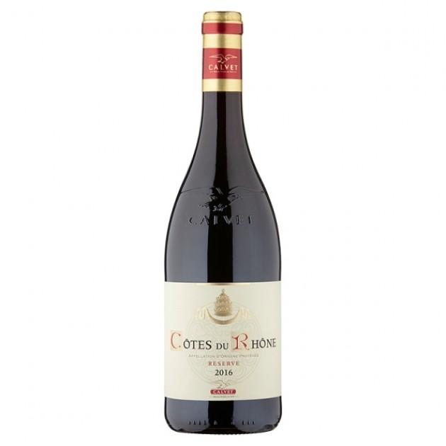 Hampers and Gifts to the UK - Send the Calvet Côtes du Rhône Reserve - 75cl
