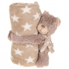 Hampers and Gifts to the UK - Send the Cuddletime Teddy Bear Blanket