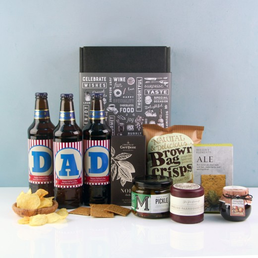 Hampers and Gifts to the UK - Send the Personalised DAD Beer Gift Box