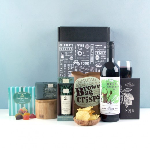 Hampers and Gifts to the UK - Send the Dad's Gardening Fuel Hamper