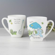 Hampers and Gifts to the UK - Send the Personalised Gardener's Latte Mug