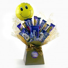 Hampers and Gifts to the UK - Send the Happiness Is a Dairy Milk Chocolate Bouquet