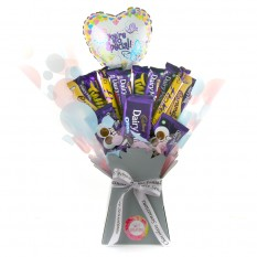 Hampers and Gifts to the UK - Send the Dairy Milk You're So Special Chocolate Bouquet
