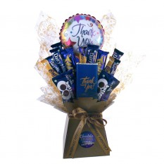 Hampers and Gifts to the UK - Send the Thank You Dairy Milk Chocolate Bouquet