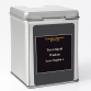 Hampers and Gifts to the UK - Send the A Distinct Year Personalised Tin Tea Caddy