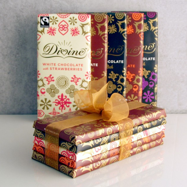 Hampers and Gifts to the UK - Send the Divine Chocolate Gift Set