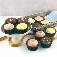 Hampers and Gifts to the UK - Send the Heavenly Cupcakes - Luxury Gift Basket