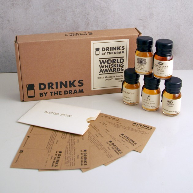 Hampers and Gifts to the UK - Send the Whisky By the Dram - Whisky Winners Tasting Set