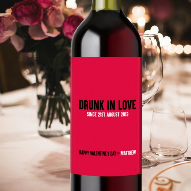 Hampers and Gifts to the UK - Send the Drunk In Love Wine Gift