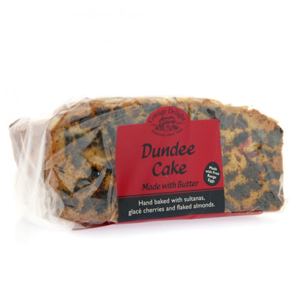 Hampers and Gifts to the UK - Send the Cottage Delights Dundee Cake - 500g