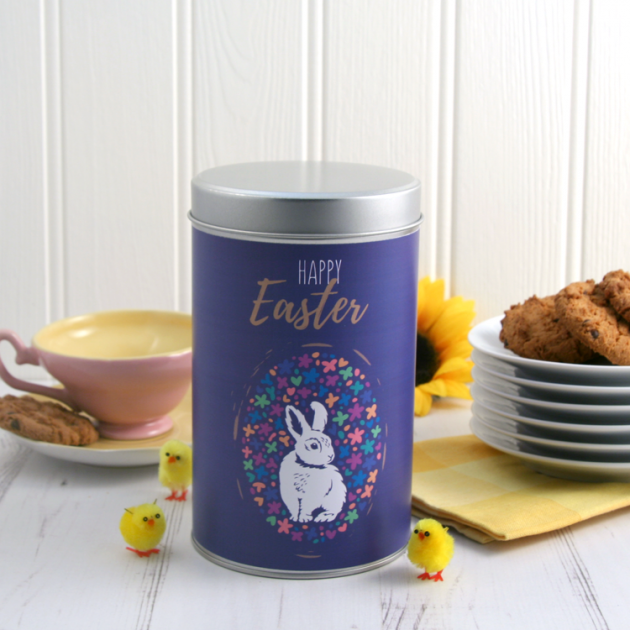 Hampers and Gifts to the UK - Send the Happy Easter Cookie Tin