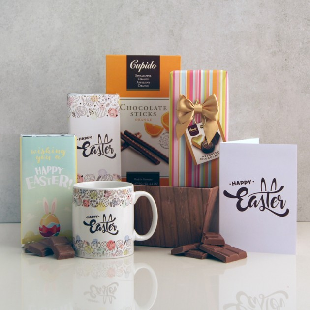 Hampers and Gifts to the UK - Send the Happy Easter Chocolate Surprise