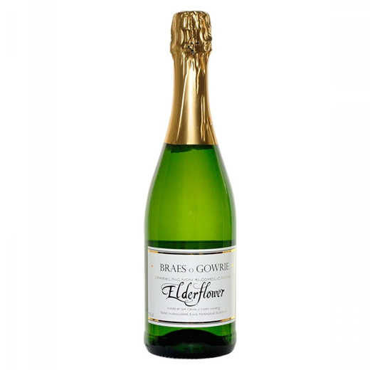 Hampers and Gifts to the UK - Send the Non-Alcoholic Braes o Gowrie Sparkling Elderflower - 75cl