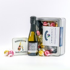 Hampers and Gifts to the UK - Send the Emergency Prosecco and Chocolates Kit