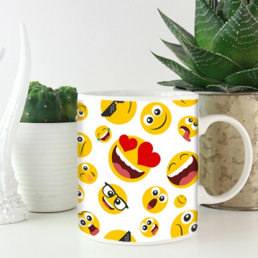 Hampers and Gifts to the UK - Send the Emoji Mug