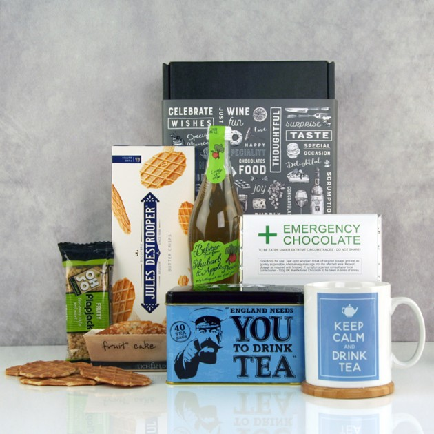 Hampers and Gifts to the UK - Send the England Needs You to Drink Tea Hamper