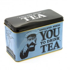 Hampers and Gifts to the UK - Send the New English Teas Memorabilia Tin