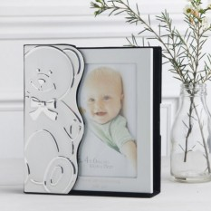 Hampers and Gifts to the UK - Send the Engraved Teddy Bear Baby Album 6 x 4