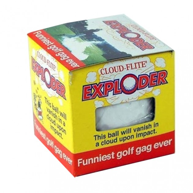 Hampers and Gifts to the UK - Send the Joke Golf Ball - Cloud-Flite Exploder